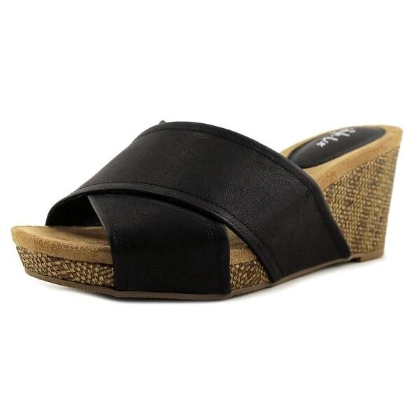 Style & Co Jillee Women Black Sandals