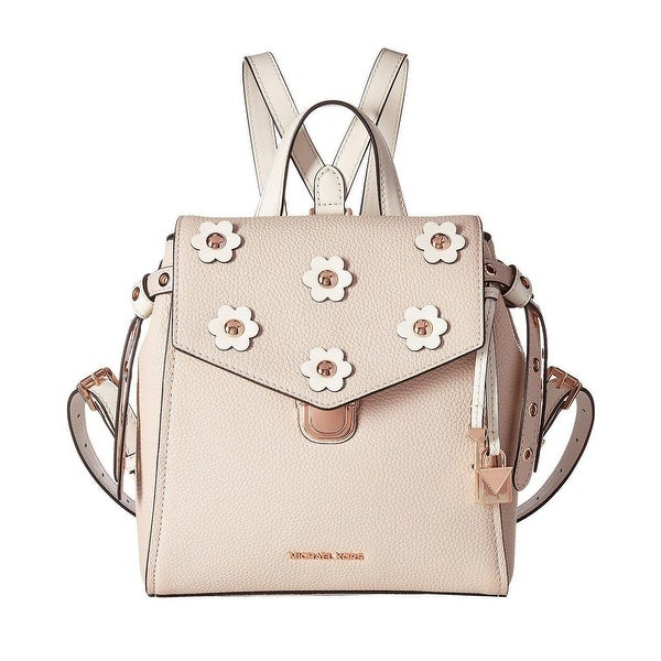 8b1a09324086c MICHAEL Michael Kors Bristol Small Leather Backpack Soft Pink Light Cream -  One Size