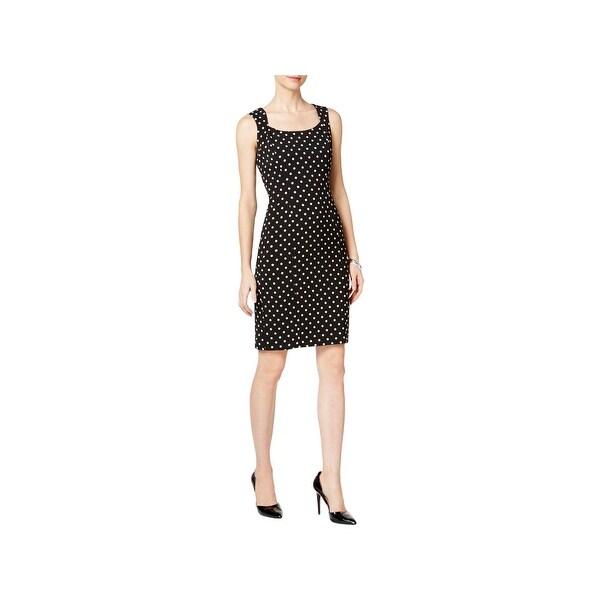 99081960996 Shop Kasper Womens Wear to Work Dress Polka Dot Sleeveless - Free ...