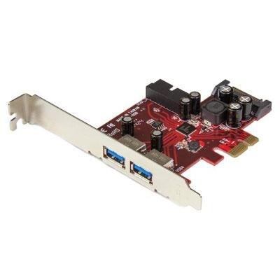 Startech Pexusb3s2ei 4-Port Pci Express Usb 3.0 Card 2 External & Internal