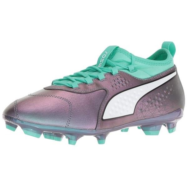 1b2cb178cb58 Shop PUMA Men's One 3 Il LTH Fg Soccer Shoe - Free Shipping Today ...