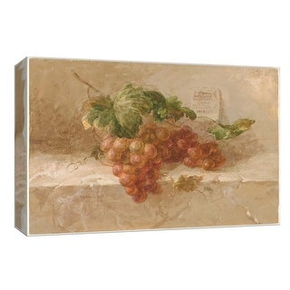 """PTM Images 9-153689  PTM Canvas Collection 8"""" x 10"""" - """"Merlot Grapes"""" Giclee Fruits & Vegetables Art Print on Canvas"""