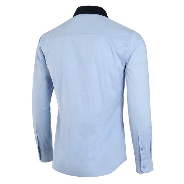 Beloved Mens Short Sleeve Button Down Plaid Work Casual Cotton Dress Shirt