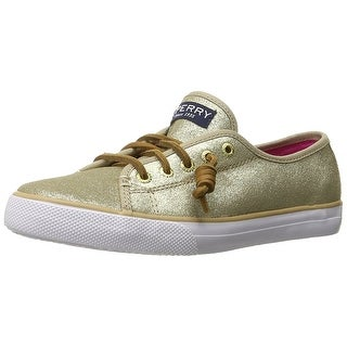 Sperry Top-Sider Seacoast Leather Sneaker Shoes - 1 m us little kid
