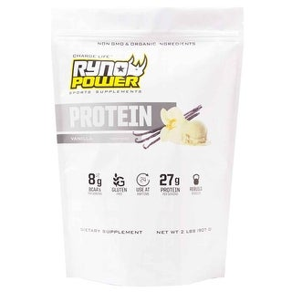 Ryno Power Protein Powder - 2Lbs - Vanilla - PPV4664