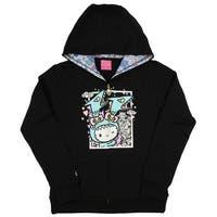 Tokidoki x Hello Kitty Womens' Kawaii Kitty Kaiju Hoodie Jacket