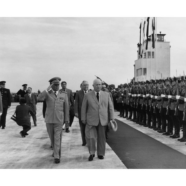 f7eec91e4119f Shop Nikita Khrushchev Walks With Josip Tito History - Free Shipping On  Orders Over $45 - Overstock - 24380150