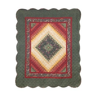 Link to Donna Sharp's Spice Postage Stamp Throw UCC Similar Items in Blankets & Throws