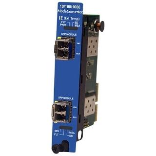 IMC 850-19500 B&B IE-iMcV-ModeConverter, SFP/SFP - 2 x Expansion Slots - 2 x SFP Slots - External