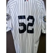 Signed Sabathia CC New York Yankees Authentic New York Yankees Jersey with 2009 Stadium and World S