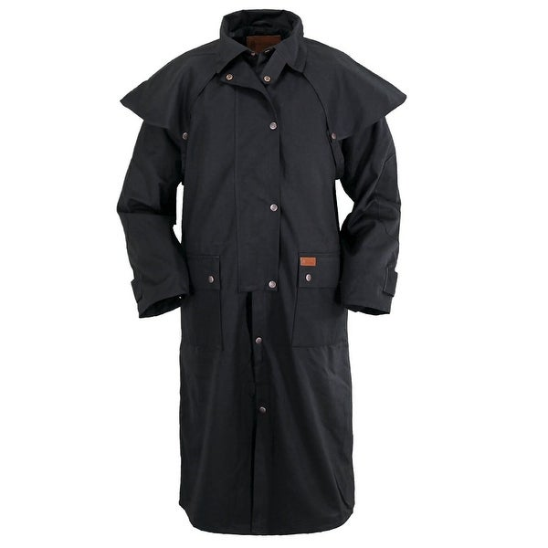 Outback Trading Duster Mens Low Rider Waterproof Oilskin Snaps
