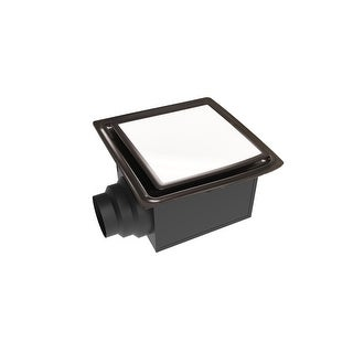 Aero Pure ABF110DHL5  110 CFM 0.9 Sone Ceiling Mount Humidity Sensing Exhaust Fan with Energy Star Rating