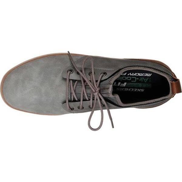 dc8529a8e1c8 Shop Skechers Men s Heston Rogic Oxford Gray - Free Shipping Today ...