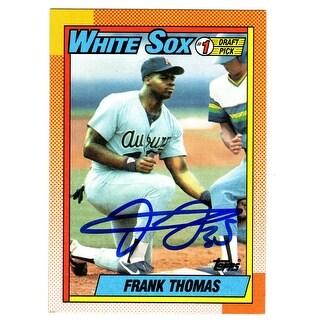 Frank Thomas White Sox 1990 Topps Rookie Card 414