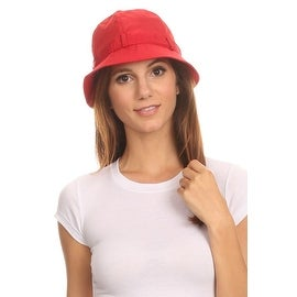 Womens Cloche Rain Hat