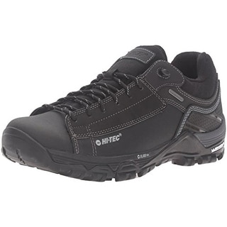 Hi-Tec Mens Trail Ox Hiking, Trail Shoes Leather Waterproof - 7.5 medium (d)