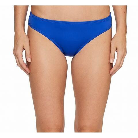 Nautica Blue Womens Size Medium M Hipster Swimwear Bikini Bottom
