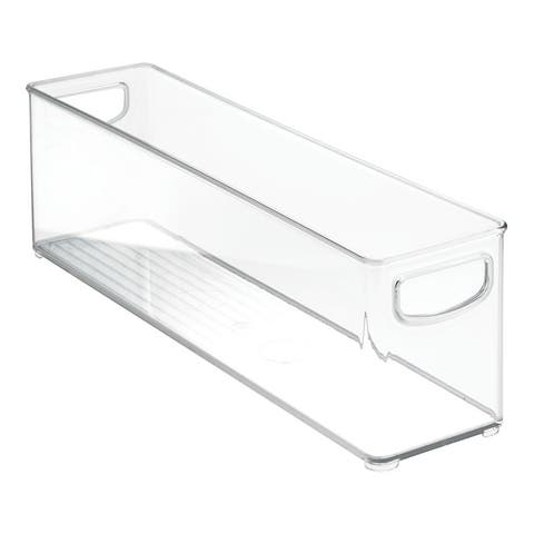 InterDesign 64630 Organizer Bin, Clear