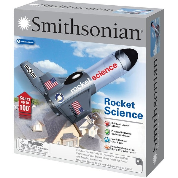 Smithsonian Physical Science Rocket Science Kit - multi