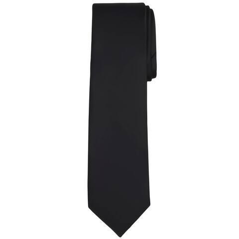 Jacob Alexander Solid Color Men's Regular Neck Tie