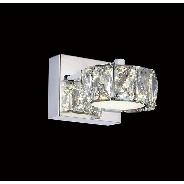 Silver Orchid Baxter LED Wall Sconce with Chrome Finish. Opens flyout.