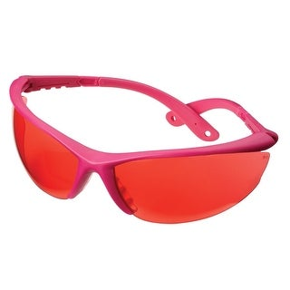 Champion Shooting Glasses with Ballistic Pink Open Frame (Rose Lens)