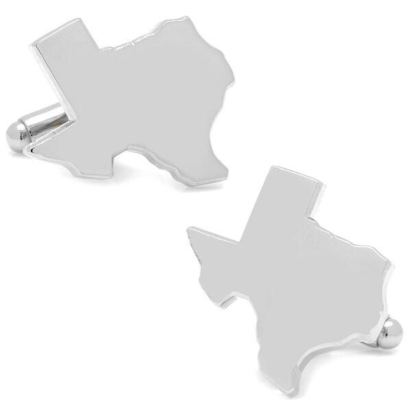 Silver Texas Cufflinks