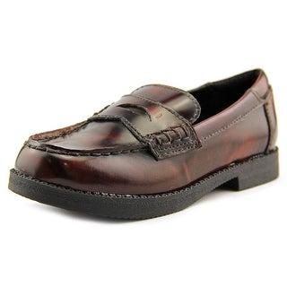 Kenneth Cole Reaction Loaf-Er Sr Youth Round Toe Leather Loafer