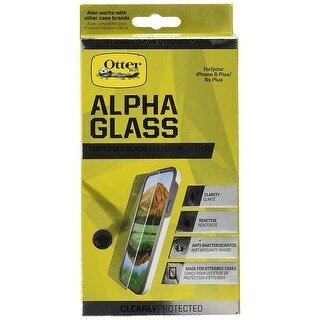 Screen Protector For iPhone 6 Plus & 6s Plus by OtterBox - Alpha Glass