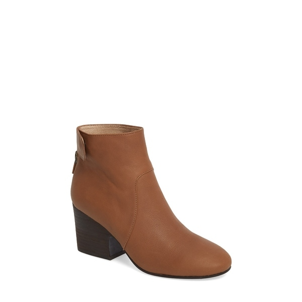 Eileen Fisher Womens harris Closed Toe Ankle Fashion, whisky leather, Size 8.0 - 8