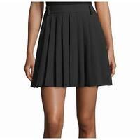 Red Valentino Womens US IT 40 Pleat Mini A-Line Skirt