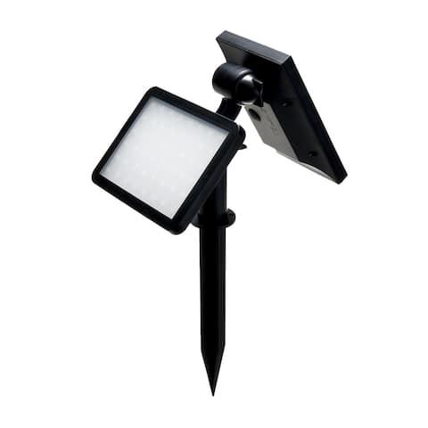"Solar Spotlight Wall Lamp for Outdoor 960Lums - 7'10"" x 9'17"""