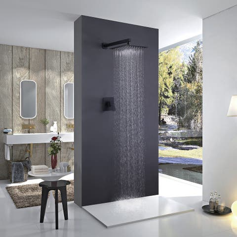Wall Mounted Bathroom Shower Towers With Shower Faucet