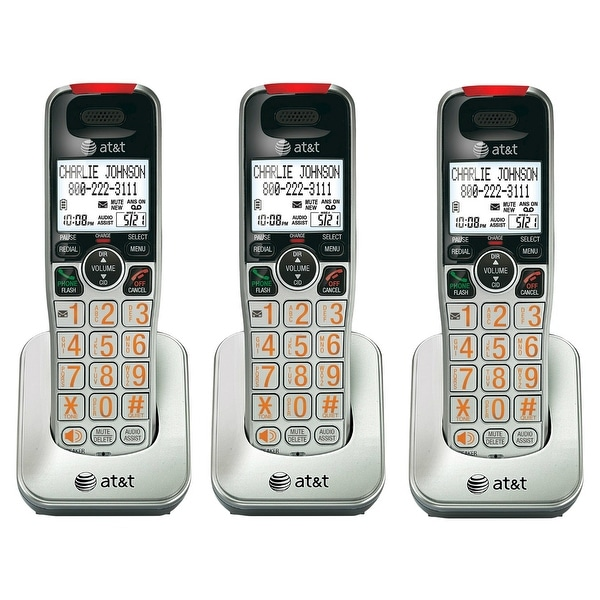 AT&T CRL30102 DECT 6.0 Technology 1.9GHz Speakerphone 3 Pack New