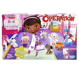 Operation Game: Disney Junior Doc McStuffins Toy Hospital Edition https://ak1.ostkcdn.com/images/products/is/images/direct/649c6169d50094c492249e598b11b7da46aa3aa6/Operation-Game%3A-Disney-Junior-Doc-McStuffins-Toy-Hospital-Edition.jpg?impolicy=medium