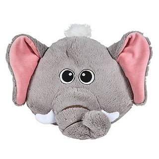 Elephant Plush Child Size Decorative Throw Pillow (1)