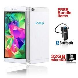 "Indigi® Factory Unlocked 3G 6"" DualSim SmartPhone Android 5.1 Lollipop w/ WiFi + Google Play + Bundle Included"