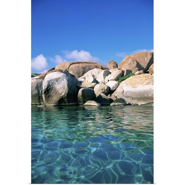 """The Baths, British Virgin Islands"" Poster Print"