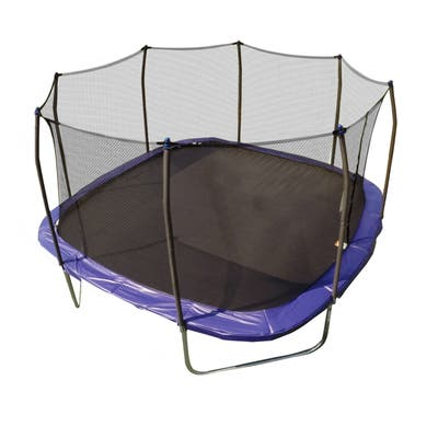 Skywalker Trampolines Blue 13-foot Square Trampoline with Enclosure