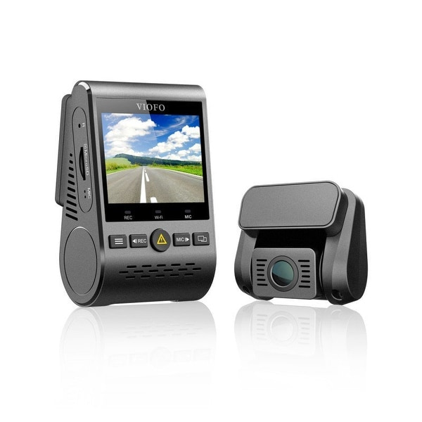 Viofo A129 Duo 2-Channel Full Hd 1080P 30Fps Car Dash Camera With F1.6 Aperture 7 Elements Glass Lens And Built-In Wifi