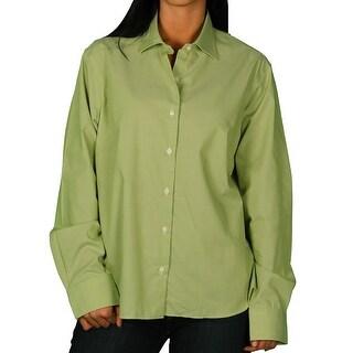 Jockey Misses Tonal Micro-Nailhead Texture Shirt