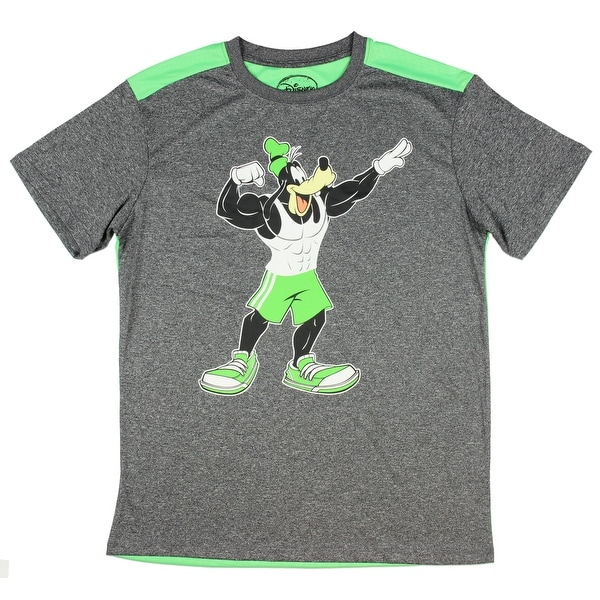 e103544148d Shop Disney Goofy Shoes Performance Active Graphic T-Shirt - On Sale - Free  Shipping On Orders Over  45 - Overstock - 20732243