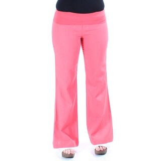 STOOSH Womens New 1420 Coral Wide Leg Casual Pants Juniors Juniors M B+B