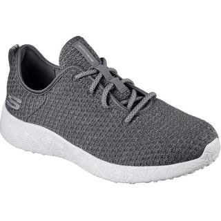 Skechers Burst Donlen Mens Sneakers Charcoal 10.5