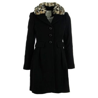Kate Spade Womens Coat Wool Button Front - 14