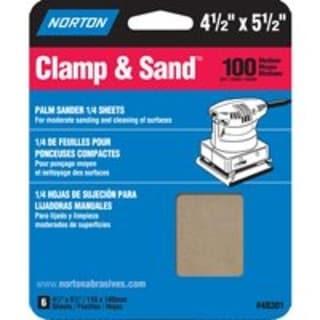 """Norton 07660705444 Multisand Sheet 4-1/2""""x5-1/2"""", 100 Grit"""