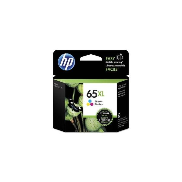 HP 65XL Tri-Color Original Ink Cartridge (N9K03AN)(Single Pack)