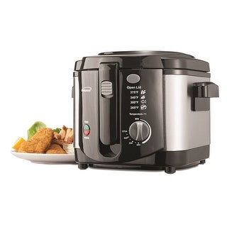 Brentwood Df-720 1200W Stainless Steel 8-Cup Deep Fryer