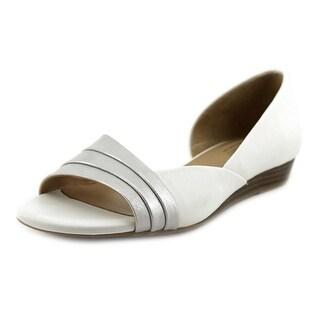 Naturalizer Jenah Women W Open Toe Leather  Wedge Heel