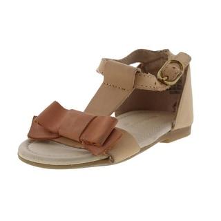 Zara Infant Girls Leather Sandals - 19